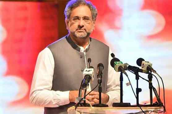 Abbasi says will agree on opposition's name for caretaker PM