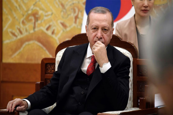 Turkey ruling party names Erdogan as presidential candidate