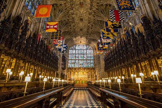 Royal wedding venue steeped in British history