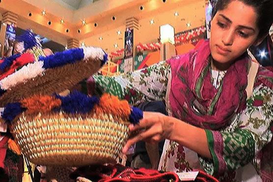 Karachi Local Handicrafts Exhibition Promotes Rural Female
