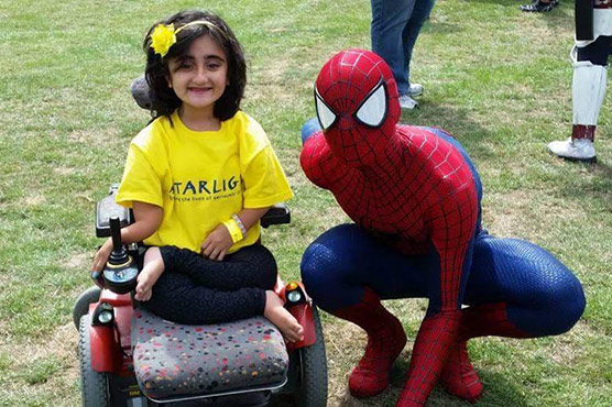 Suffering from rare bone disorder, Amna's dream is to be as independent as possible