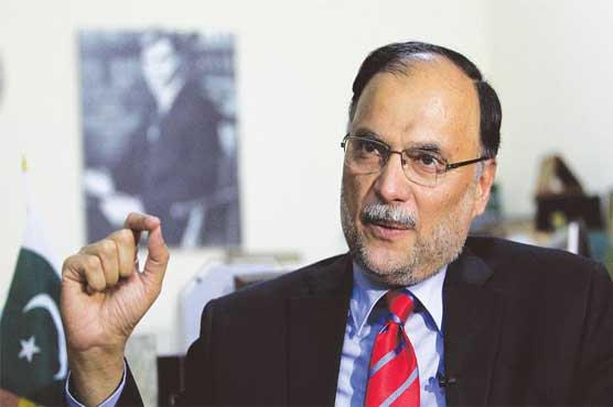 Interior Minister Ahsan Iqbal sustains shoulder injury in Narowal gun attack
