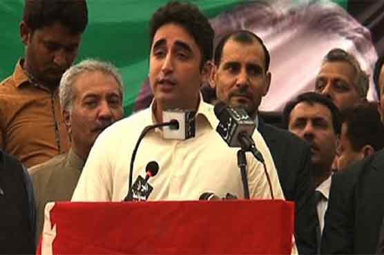 PPP does politics of issues, while Nawaz, Imran are power hungry: Bilawal