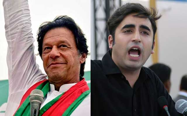 Imran Khan enraged over PPP vandalism in Karachi