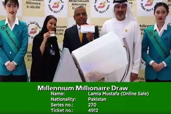 Pakistani, Indian hit $1m jackpot in Dubai