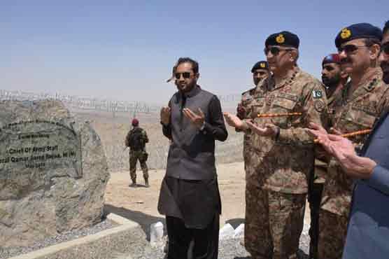 Border fencing to help prevent cross border terrorism: COAS