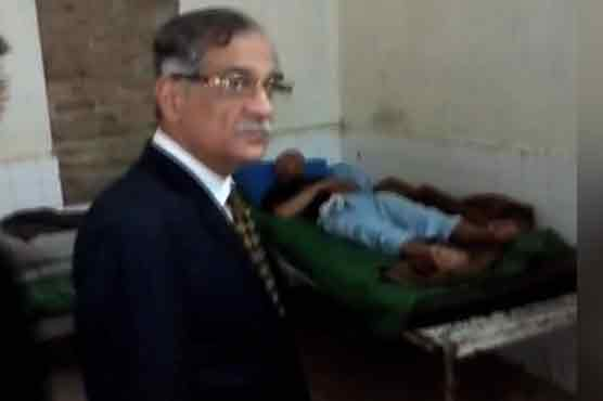 CJP lashes out at condition of central jail Peshawar