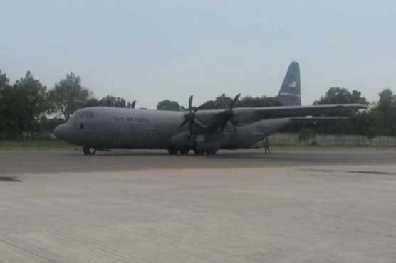 USAF C-130 returns without USA  diplomat involved in Pakistani's death