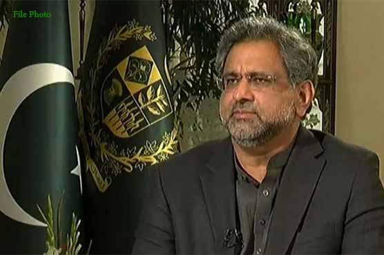 PM Abbasi to hold news conference over Nawaz Sharif's controversial remarks