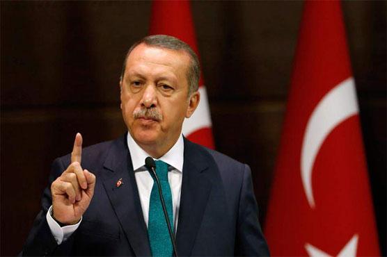 Erdogan accuses Israel of 'genocide' over Gaza deaths
