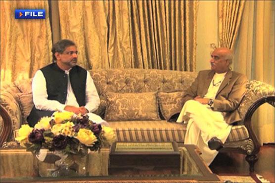 Caretaker setup: PM Abbasi, Khursheed Shah to meet today