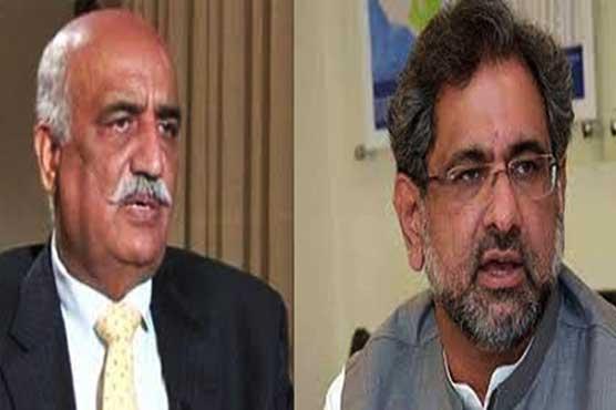 Caretaker govt: PM Abbasi, Khursheed Shah to meet again on Tuesday
