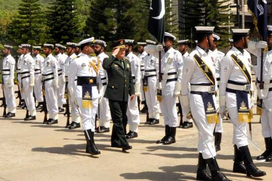 Vice Chairman of Chinese Central Military Commission visits Naval HQ