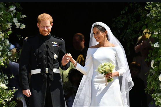 In pictures: Prince Harry and Meghan Markle's big fat royal wedding
