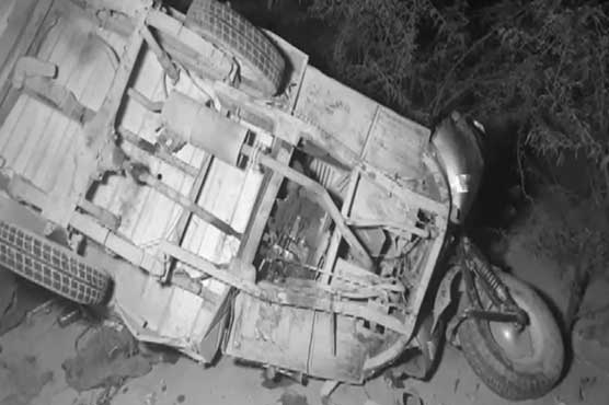 Eight killed in rickshaw, dumper collision in Sargodha