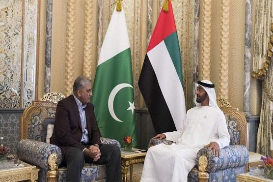Army chief meets crown prince of Abu Dhabi during UAE visit