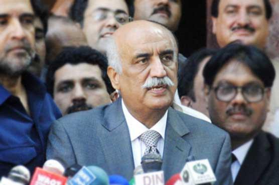 Will relinquish politics if Khan implements 100-day plan: Khursheed Shah