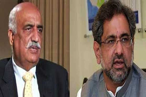 Caretaker govt: PM Abbasi, Khursheed Shah to meet again today