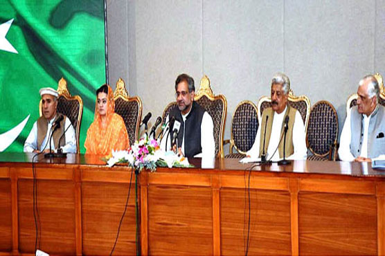 Political consensus led to FATA merger legislation: PM