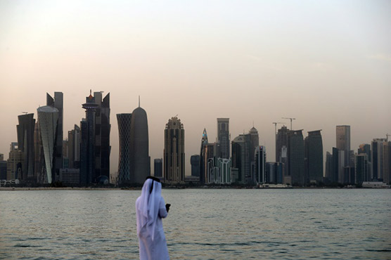 Qatar bans goods from Arab rivals 1 year into diplomatic crisis