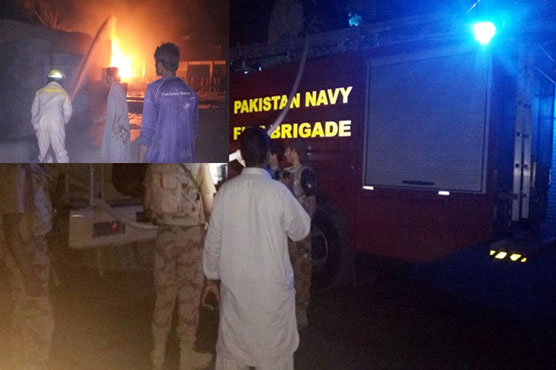 Pak Navy saved precious lives by dousing fire at oil depot in Turbat