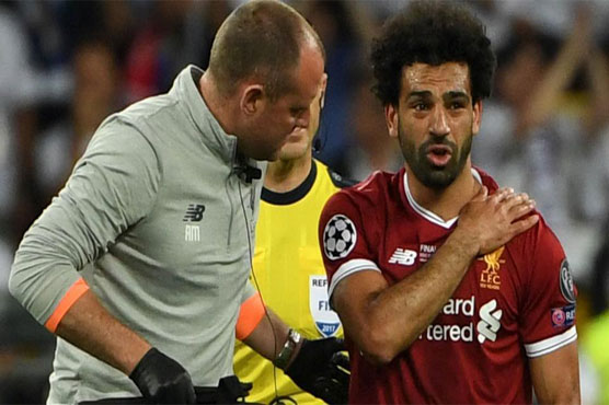 Salah could be out for 'three to four weeks', says Liverpool physio