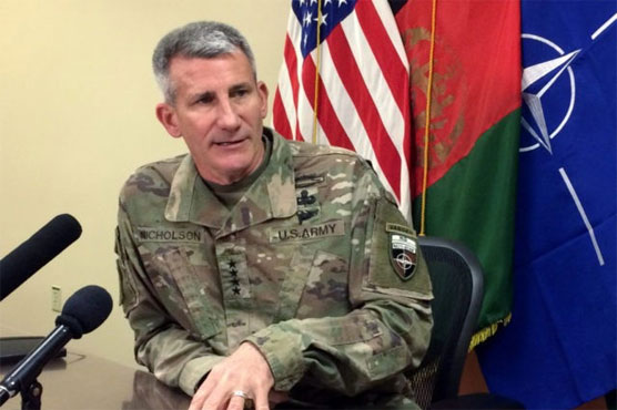 Taliban, Afghan officials in ceasefire talks: US general