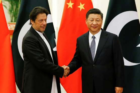PTI govt inherited very difficult economic situation, PM Khan tells Chinese President