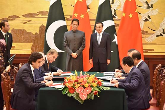 Pakistan, China sign agreements for cooperation in diverse fields