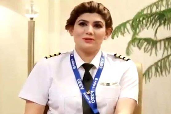 I'd start living in the plane if given a chance: PIA's first Kashmiri female pilot