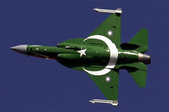 JF-17 Thunder exhibits dazzling aerial performance in China