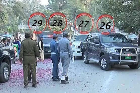 Video: CM Buzdar reaches DG Khan in 29-car protocol