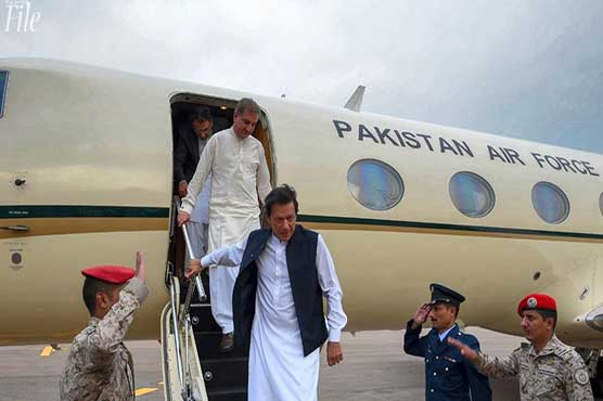 PM Imran leaves for day-long visit to UAE