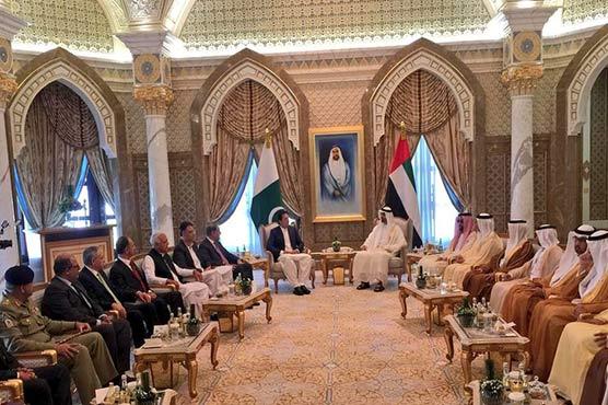 Abu Dhabi: PM Khan, Crown Prince Nahyan review bilateral ties