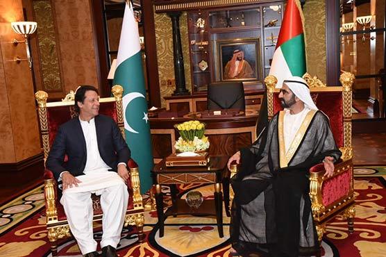 Pakistan, UAE agree to boost bilateral ties