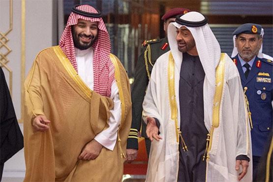 Saudi prince lands in UAE on first foreign tour since Khashoggi murder