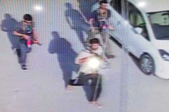 Watch: CCTV footages of attack on Chinese consulate in Karachi