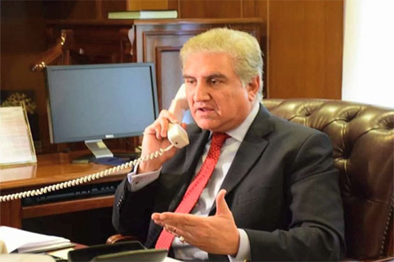 Qureshi apprises his Chinese counterpart of Karachi consulate attack details