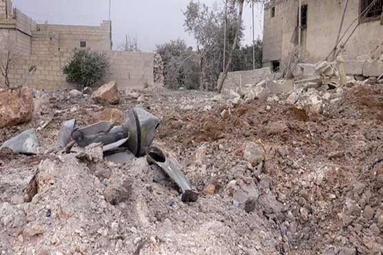 Syria, Russia accuse rebels of wounding scores in Aleppo gas attack