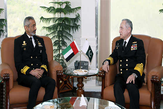 Commander UAE Naval Forces calls on Naval Chief
