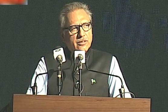 Our weapons are solely for defence purpose: President Alvi
