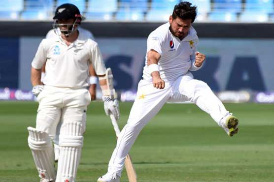 Twitter hails Yasir after picking up 14 wickets against New Zealand
