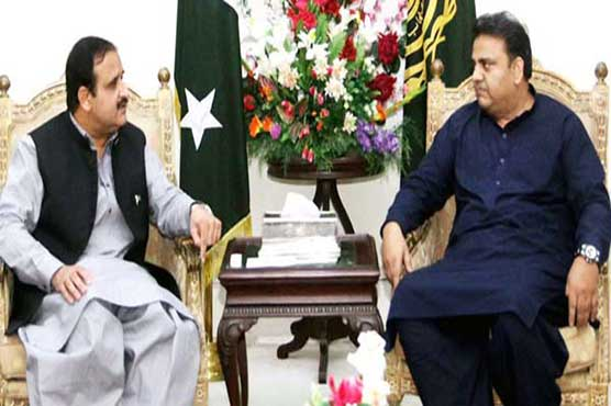 Buzdar, Fawad discuss 100-day plan