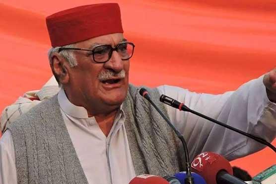 Asfandyar Wali raises objection on Zulfi Bukhari's inclusion in cabinet