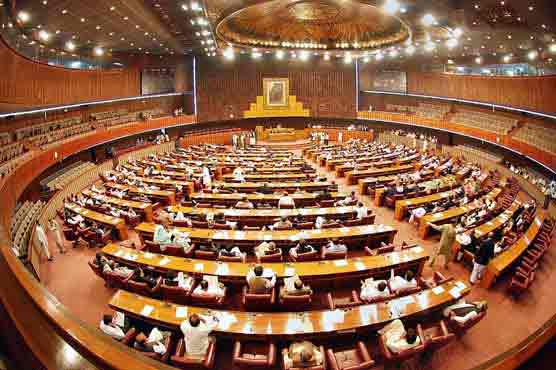 NA approves resolution against Indian firing on AJK premier's helicopter