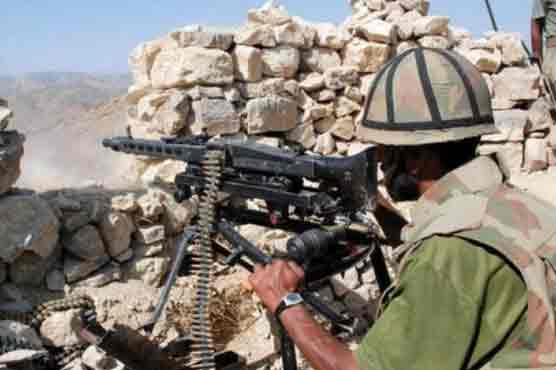 Security forces foil cross border attack from Afghanistan, kill seven terrorists