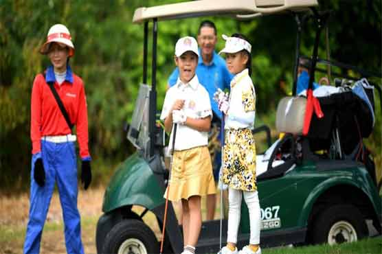 The army of tiny Tigers driving China's young golf boom