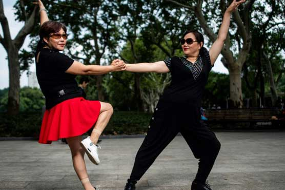 Forever young: China's 'dancing aunties' kick up their heels
