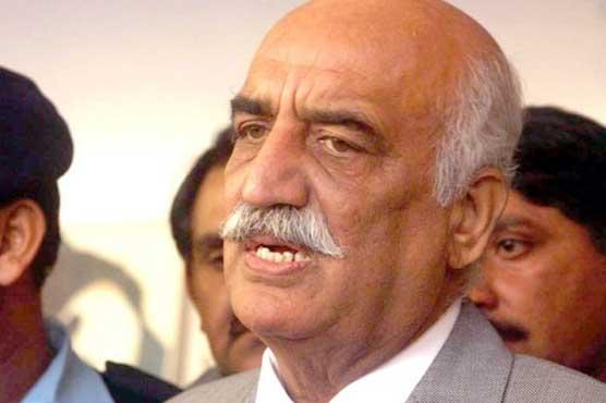 Shehbaz Sharif's arrest seems to be pre-poll rigging: Khursheed Shah