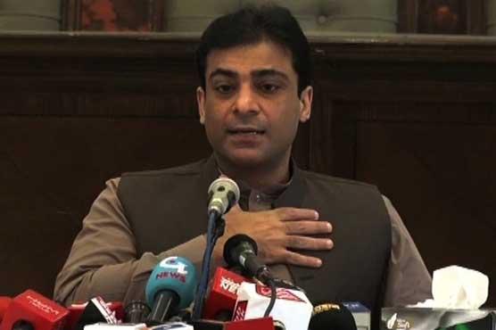 Hamza Shehbaz condemns arrest of Shehbaz Sharif